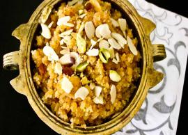 Recipe- Craving For Sweets During Lockdown, Try Moong Dal Halwa