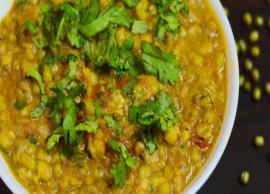 Recipe- Healthy To Eat Moth Dal