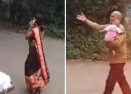 Video- Mother Forgot Her Child in Auto-rickshaw, While Busy Talking on Phone