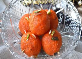 Recipe- Make Your Sunday Delicious With Homemade Motichoor Ladoo