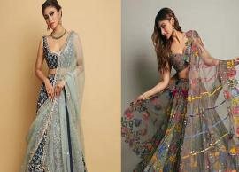 PICS- This Wedding Season Go Stylish With Mouni Roy Inspired Lehengas