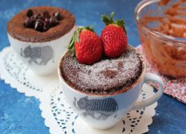 Recipe- Quick To Make Eggless Chocolate Mug Cake