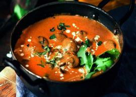 Recipe- Restaurant Style Mughlai Mushroom Malai