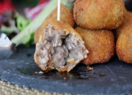 Recipe- Beat The Monday Blues With Mushroom Croquettes