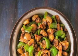 Recipe- South Indian Style Mushroom Pepper Fry