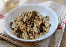 Mother's Day 219- Impress Your Mother With Mushroom Risotto