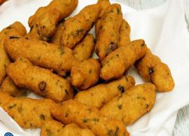 Navratri Recipe- Potato and Sabudana Muthiya in Less Oil