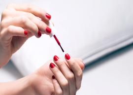 Here is How You Can Dry Your Nail Polish Instantly