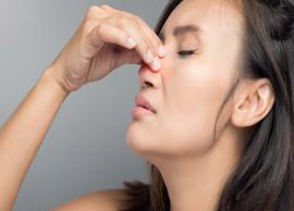 5 Natural Ways To Get Rid of Nasal Congestion