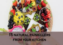 15 Ingredients That Work as Natural Work Painkillers