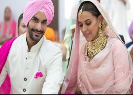 PICS- After Sonam Kapoor, Neha Dhupia Secretly Ties Knot With Angad Bedi-Photo Gallery