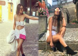 स्विट्जरलैंड की सड़कों पर इस अंदाज़ में नज़र आई निया शर्मा, तस्वीरे वायरल-Photo Gallery