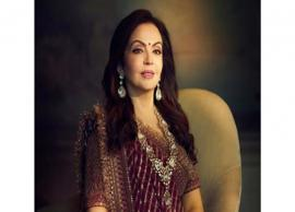 PICS- Nita Ambani Looks Amazing in Sabyasachi Lehenga-Photo Gallery