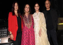 Alia Bhatt, Kalki Koechlin, Jim Sarbh, Shabana Azmi and several others attend special screening of No Fathers In Kashmir