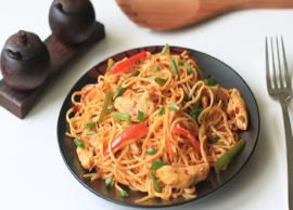Recipe- Mouthwatering Chicken Noodles