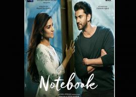 Salman Khan introduces Mohnish Bahl's daughter Pranutan Bahl and Zaheer Iqbal in romance drama 'Notebook'