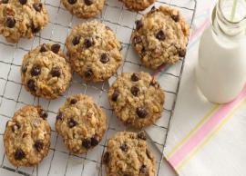 Recipe- Super Soft Eggless Oatmeal Chocolate Chunk Cookies