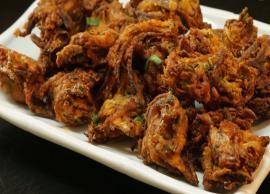Recipe- Onion Bajji For Perfect Tea Time