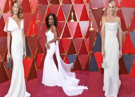 PICS- 10 Celebs Who Ruled Oscars 2018 in White-Photo Gallery