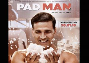 Second Poster of Akshay Kumar Next PadMan is All Smiles
