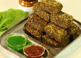 Recipe- Nice and Crispy Palak Vadi