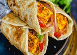 Recipe- Chinese Style Paneer Kathi Rolls