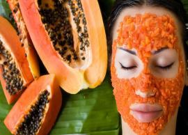 Home Made Papaya Mask For Healthy Hair