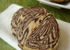 Recipe- Delicious and Eggless Chocolate Peanut Butter Marble Cookies