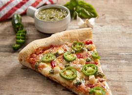 Recipe- Easy To Make Pepper-Only Pizza