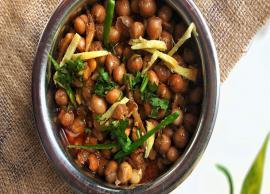Diwali Recipe- Punjabi Style No Onion Garlic Pindi Chole