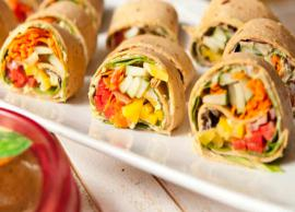 Recipe- Veggie Pinwheels are Perfect Finger Food