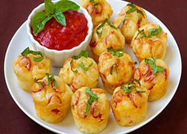 Recipe- Make The Morning Special With Pizza Puffs
