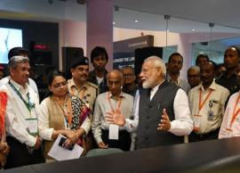 Chandrayaan-2: PM Narendra Modi boosts morale of ISRO scientists after Vikram lander lost signal