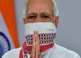 Coronavirus Update- PM Modi Updates Twitter Pic With Gamcha Mask, Others Follow as Trend