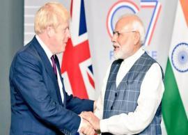 PM Narendra Modi meets Boris Johnson on G7 Summit sidelines, agree to further India-UK bilateral ties