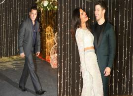 Salman Khan Hosted Party For Priyanka and Nick