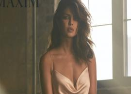 Priyanka Chopra looks extremely sultry in silk slip dress, we bet you can't take your eyes off her!-Photo Gallery