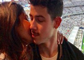 Priyanka Chopra celebrates fiancée Nick Jonas' birthday with a kiss