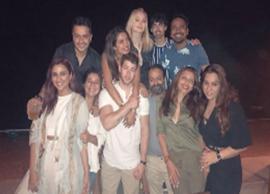 Priyanka Chopra Welcomes Joe Jonas and Sophie Turner With a Bash