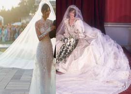 Priyanka Chopra's 75ft long veil breaks Princess Diana's record