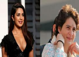 'Priyanka Chopra Zindabad'- Congress leader hails actor instead of Priyanka Gandhi Vadra