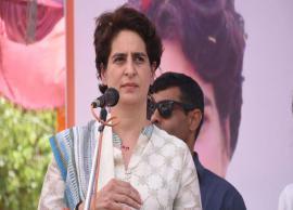 Priyanka Gandhi criticises Centre for economic slowdown