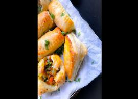 Recipe- Make Your Evening Better With Quick Vegetable Puff