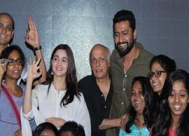 PICS- Alia Bhatt organizes special Raazi screening for deaf and mute kids in Mumbai-Photo Gallery