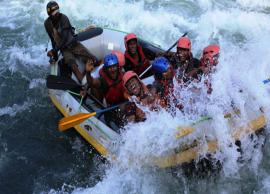 5 Best Places To Try River rafting In India