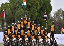 राजस्थान दिवस समारोह - 2018 : जयपुर के पॉलो ग्राउंड में दिखा सेना का साहस, अनुशासन और रोमांच, देखे तस्वीरे-Photo Gallery