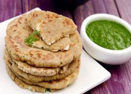 Navratri 2019- Rajgira Paneer Paratha is Perfect for Fasting Days