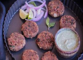 Recipe- Healthy Rajma and Palak ki Tikki