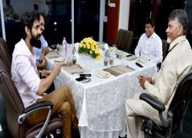 NTR Biopic: Baahubali actor Rana Daggubati meets Chief Minister Chandrababu Naidu for his next