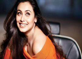 Rani Mukerji Tells Her Plan After Hichki